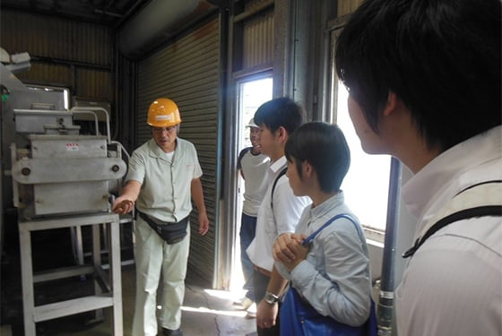"University internship ""Wastewater treatment facility tour"" (2016)"