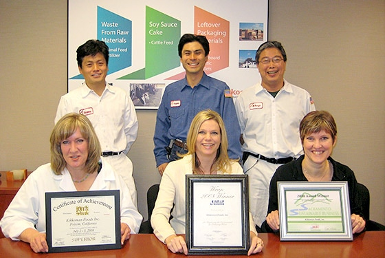 KFI employees awarded with WRAP Award, SSB Award, and SEC Award (2008-09)