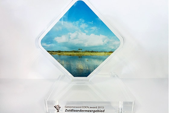 EDEN award 2013 commemorative shield