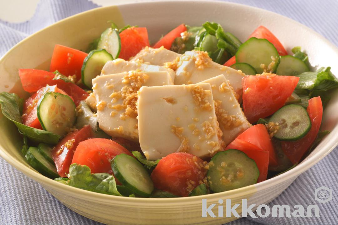 Photo: Soy Sauce Tofu Salad