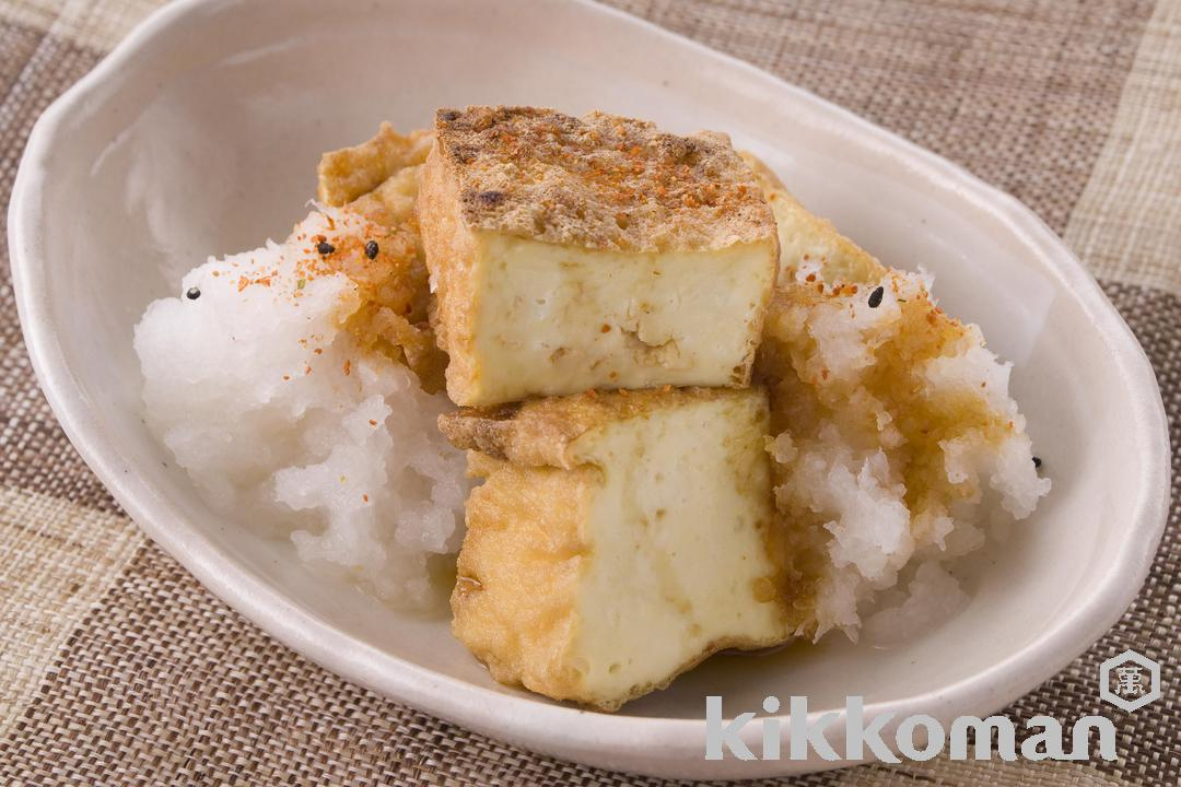 Fried Tofu with Grated Daikon Radish
