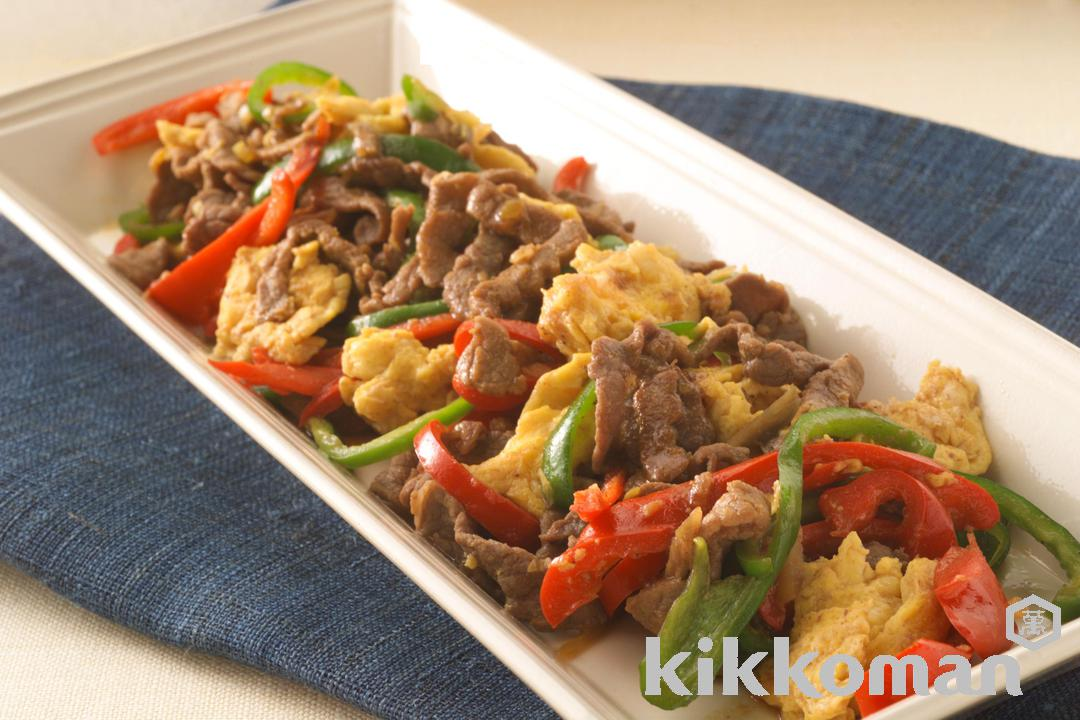Beef and Bell Pepper Stir Fry