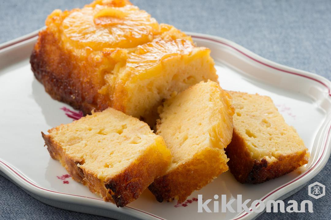 Recipe Directions For Pineapple Cake With Soy Pulp Kikkoman Corporation