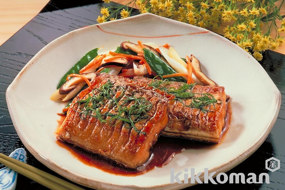 Scabbard Fish Teriyaki with Perilla