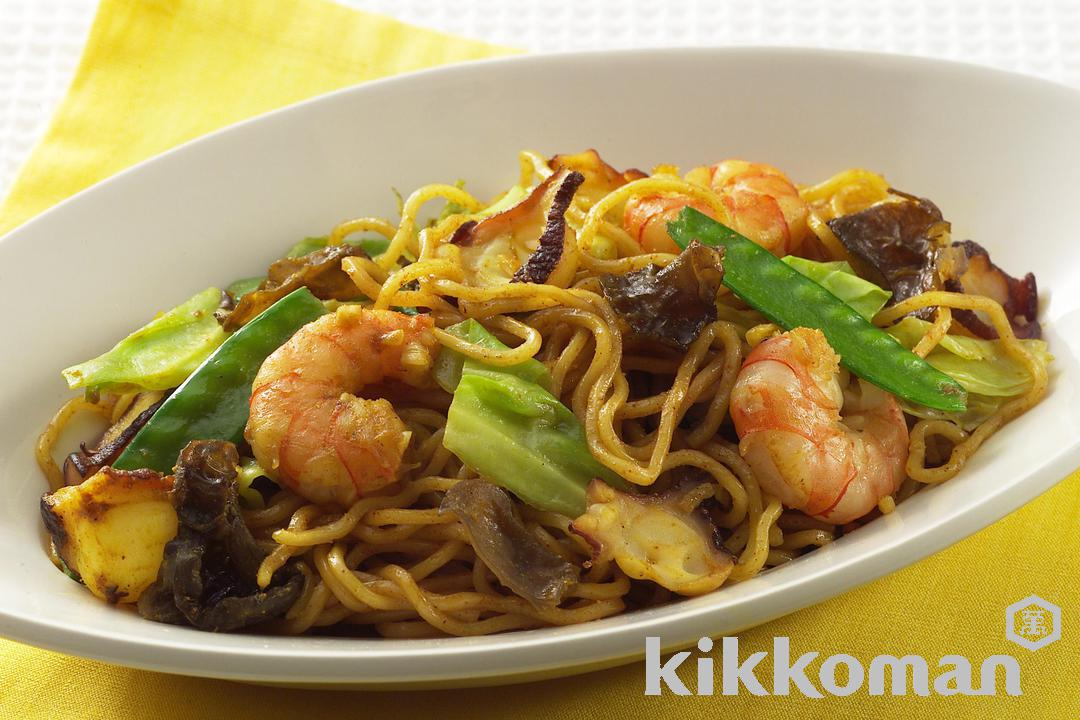 Recipe Directions For Spicy Yakisoba Kikkoman Corporation
