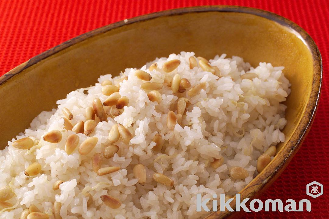 Rice Mixed with Pine Nuts