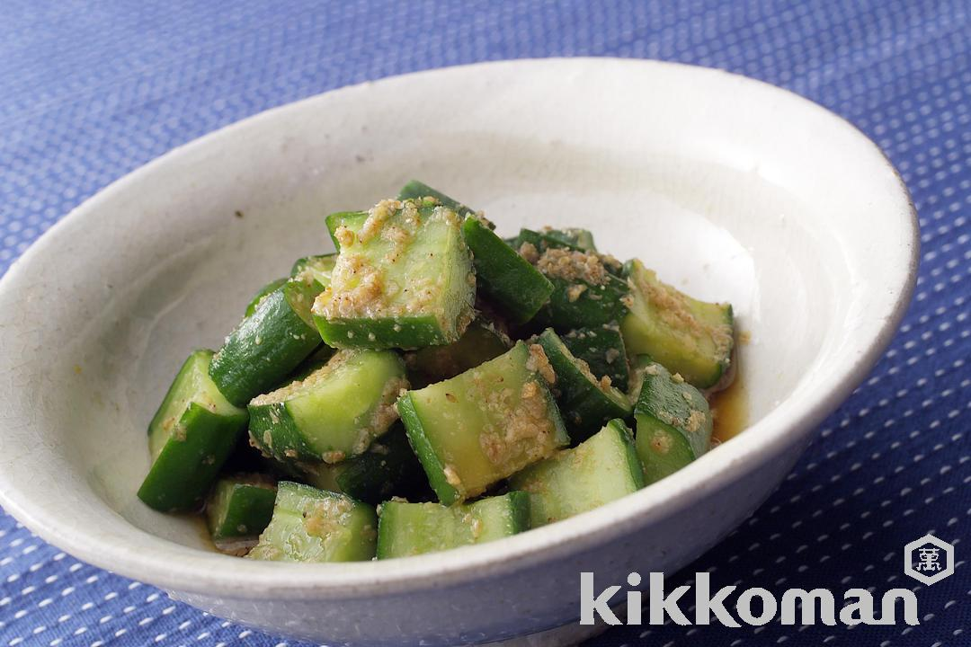 Beaten Cucumber with Korean-style Dressing