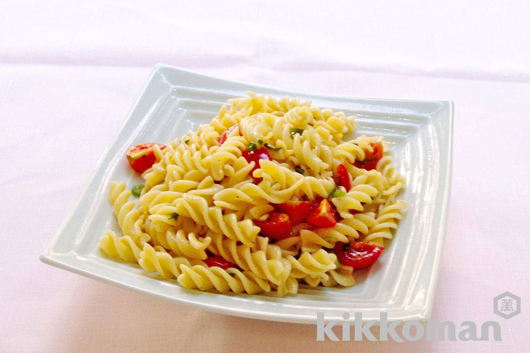 Chilled Pasta with Cherry tomatoes