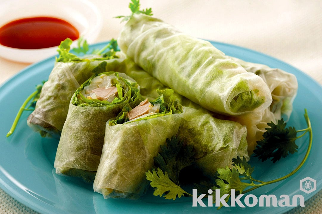 Simple Bonito Spring Rolls