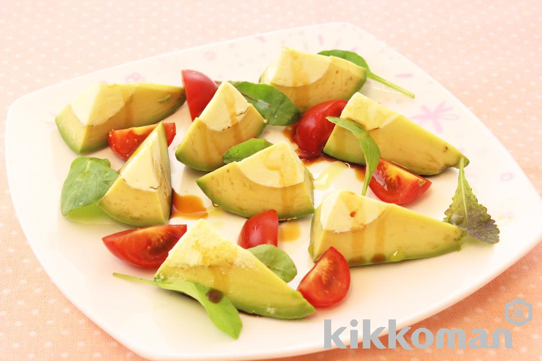 Bite-size Avocado with Cheese