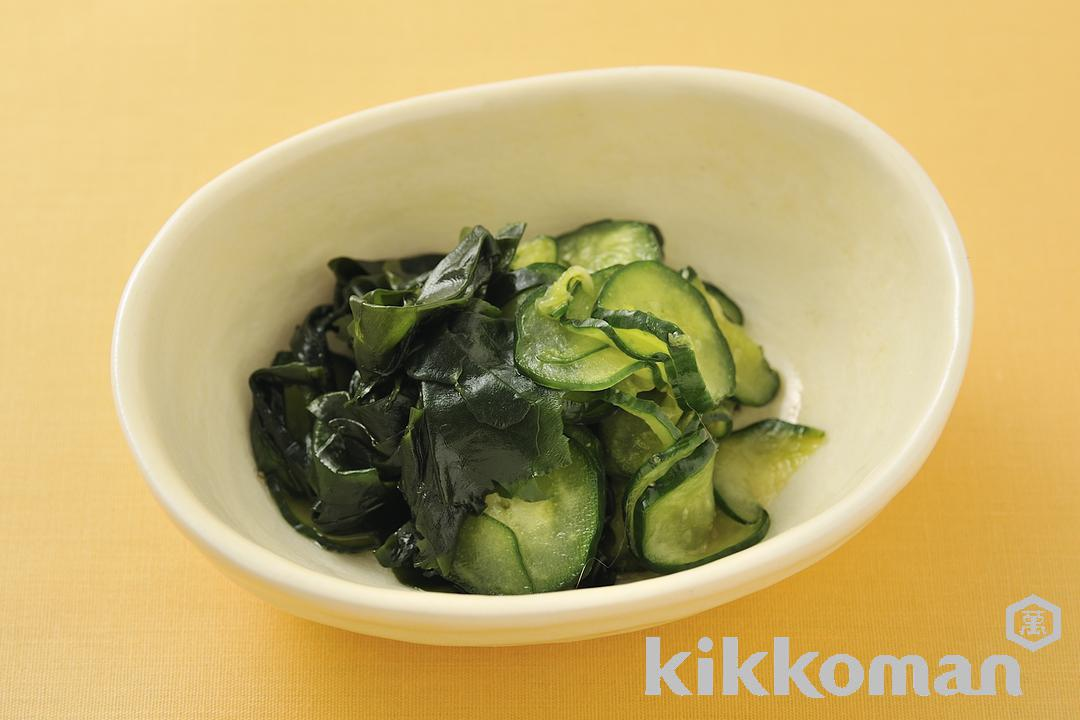 Cucumber and Seaweed Pickles