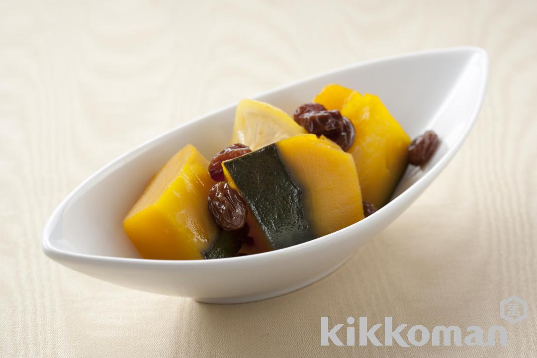 Kabocha Squash Simmered with Honey