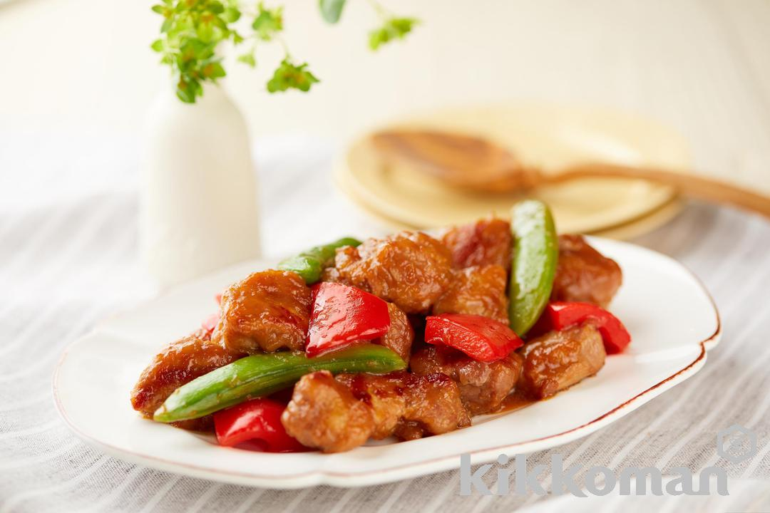 Photo: Sweet and Spicy Ginger Pork Teriyaki